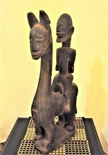 Rare Dogon Equestrian King Horse Statue African Carving!