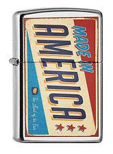 Zippo Made in America Sign Retro auf Wunsch mit persönlicher Gravur 60001963