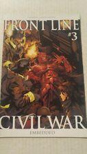 Civil War Frontline #3 December 2006 Marvel Comics Embedded