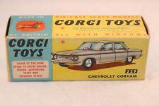 Corgi Toys 229 Chevrolet Corvair empty excellent plus complete original box