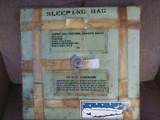 Vietnam Era US Military Survival Sleeping Bag SRU 15P Parachute Aircrew 1968