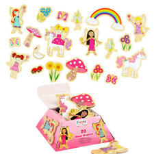 Childrens Magnetic Fairy Toy Set Kit - 20 Magnets - by Fiesta Crafts