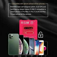 R-SIM15 Ultra Nano Unlock RSIM Card Chip For iPhone 11 XS XR Pro Max 8 7 iOS13