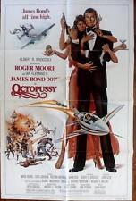 ROGER MOORE IS JAMES BOND ORIGINAL OCTOPUSSY US ONE SHEET POSTER