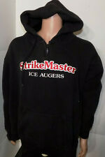 Strikemaster Ice Augers Hooded Sweatshirt (XL) Hoodie Hoody Fishing Stitched