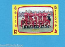 PANINI CALCIATORI 1985/86 -FIGURINA n.537- FANO - SQUADRA -Rec
