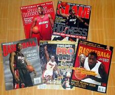DWYANE WADE LOT OF 5 COLLECTIBLE MAGAZINES SLAM BECKETT SPORTS ILLUSTRATED