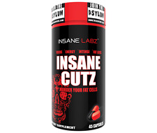 INSANE CUTZ FAT BURNER - INSANE LABZ - 45 Servings