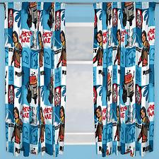 Disney Star Wars Rebels Étiquette Rideaux 168cmx183cm Goutte Prêt À L'em Ploi