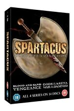 Spartacus The Complete Collection DVD Slim Edition Region 2