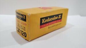 Kodak Kodacolor-x 120 Film. C-22. Sealed. Expired Sep. 1974. Free Shipping.