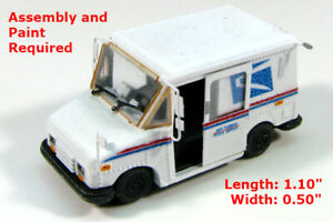 N Scale Grumman LLV Delivery Truck Kit -  by Showcase Miniatures (138)