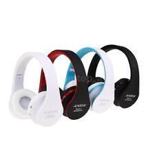 Foldable Wireless Bluetooth Stereo Headphone HiFi Music Headset Handsfree W/ Mic