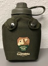 Disney California Adventure Grizzly Peak Airfield Plastic Canteen / Water Bottle