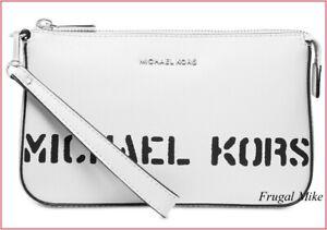 MICHAEL KORS  Logo Pouchette Wristlet