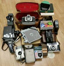 Caméra & CINE job lot vintage film photographique Rétro Bundle