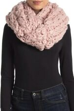 NEW Free People Dreamland Chunky Infinity Scarf in Pink