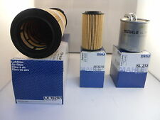 Mercedes C Class C220 CDI Service Kit Oil Air Fuel Filter 07-10 OPT2 *OE MAHLE*