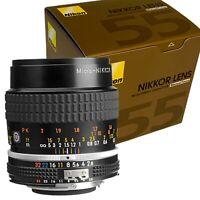New NIKON Ai MICRO NIKKOR 55mm F2.8 S Lens Manual Focus Macro Photography