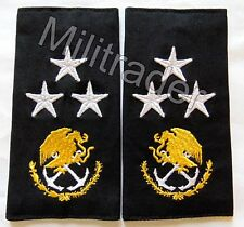 Mexico Mexican Navy Admiral Epaulets