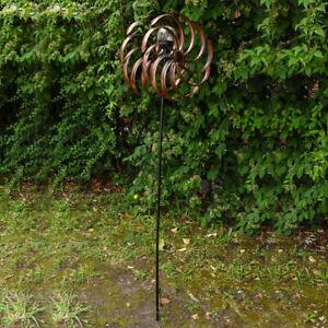 Solar Wind Spinner for Garden