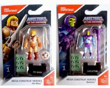 MEGA CONSTRUX HEROES SERIES 1 MASTERS OF THE UNIVERSE He-Man/Skeletor