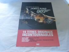 JAMES BOND 007 - Plan média / Press kit !!! THE BEST OF - CROW + TURNER + DURAN