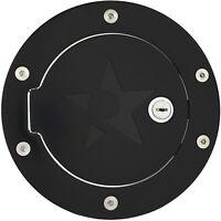 RBP BLACK GAS FUEL DOOR W/ LOCK 2004-2008 FORD F150 XLT XL FX4 CREW CAB NEW
