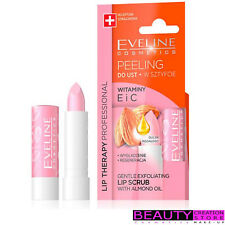 EVELINE Gentle Exfoliating Lip Scrub With Almond Oil Vit E & C EV074