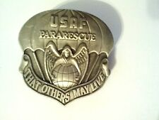 """U.S.Air Force Para Rescue (That Others May Live  )  Hat Pin  1 1/2"""""""