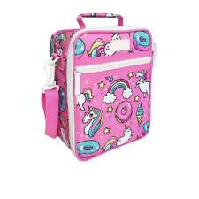 NEW Sachi Insulated Lunch Bag with Carry Strap and Zip - Unicorn - 225