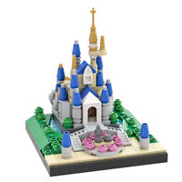 MOC Cinderella Castle Building Blocks Kids Adults Assemble Birthday Gifts Toys