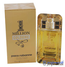 Paco 1 MILLION COLOGNE by Paco Rabanne 2.5 oz/7 5 ml  EDT Spray New In Box