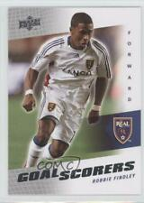 2008 Upper Deck MLS Goal Scorers Robbie Findley #GS-25 Rookie
