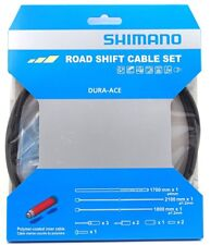 Shimano Dura Ace 9000 Road Polymer Shift Cable Set w/ FREE End Cap x3, Black