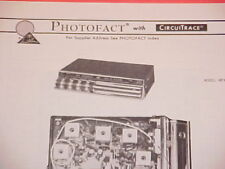 1972 INLAND DYNATRONICS FM-MPX RADIO SERVICE MANUAL MPX-2000 CHEVROLET FORD