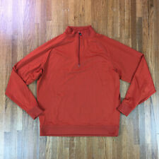 FootJoy Golf Mens 1/4 Zip Ls Pullover Nylon Sweater Sz L Rain Outdoors Cold Gear