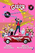 New listing Grease Movie Music Poster, Wall Decor, Art Decor, Unframed