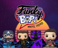 Funky Bop: Mystery Pop! Marvel Themed (Grails+Vaults+More!) One Funko Per Box