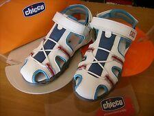 Scarpe shoes sandali bambino CHICCO NR. 31  bianchi modello gabbietta NUOVI!
