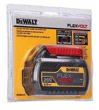 New Dewalt FLEXVOLT 20V / 60V Max Lithium Ion 6.0 AH Battery Pack DCB606