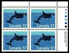 "CANADA 1173ii - Killer Whale ""1988 Fluorescent Rolland Paper"" (pb21716) $35"