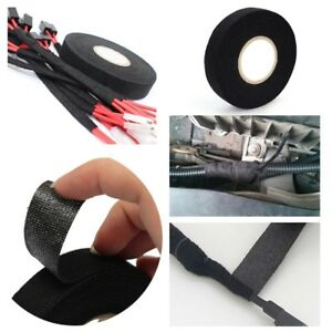1 Roll 15M Car Insulated Titanium Heat Wrap Tape Exhaust Manifold Cable Na @ UK