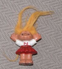 The Troll Co Miniature Mini Tiny Cheerleader Troll N Norfin Dam 1992 Figure Doll