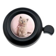 Miradoll Ragdoll Cat Kitten Pink Ribbon Bow Bicycle Handlebar Bike Bell