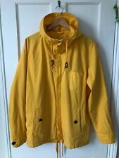 Levis Made & Crafted Yellow Smock Jacket Size 3 L Large Polloi Folk Strauss Hood