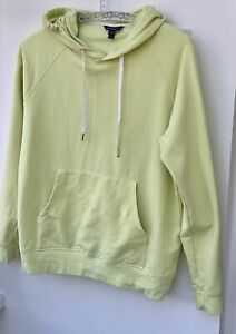 Ladies BAUKJEN lemon organic cotton hoodie, size 12