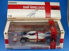 "GREENLIGHT 1:18 DAN WHELDON ""R.I.P. LIONHEART"" INDY CAR  DIE-CAST WHITE 10908"