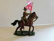 54mm WW1 Australian Light Horse with first design Ensign