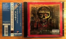 Slayer - Seasons In The Abyss (Rare Japan CD w/ OBI) Universal Music UICY-2014